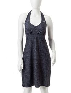 Zero Xposur Grey One-piece Swimsuits Bandeau