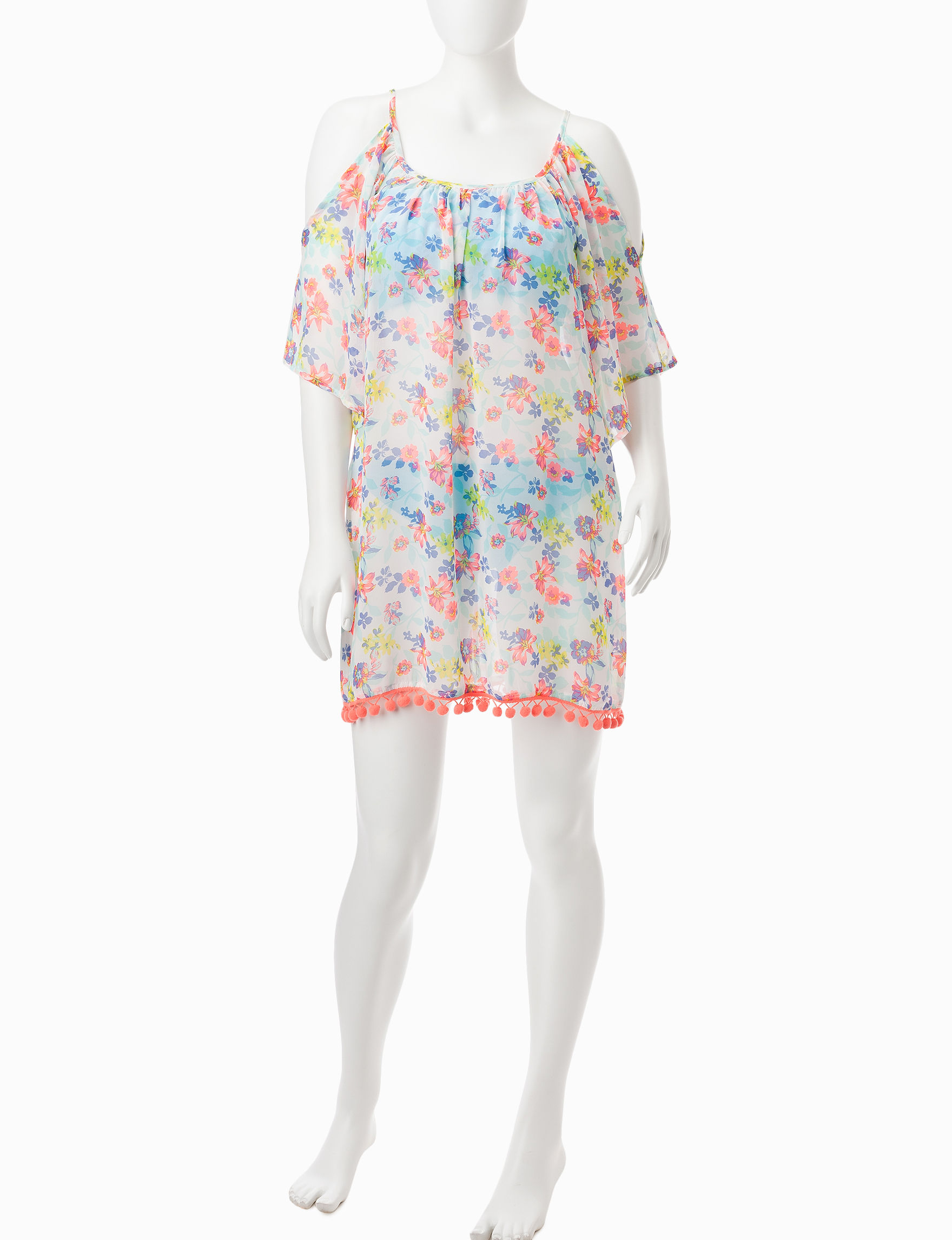 Miken Floral Cover-Ups