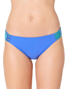 In Mocean Crochet Trim Hipster Swim Bottoms