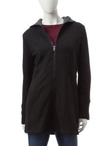 Valerie Stevens Charcoal Lightweight Jackets & Blazers