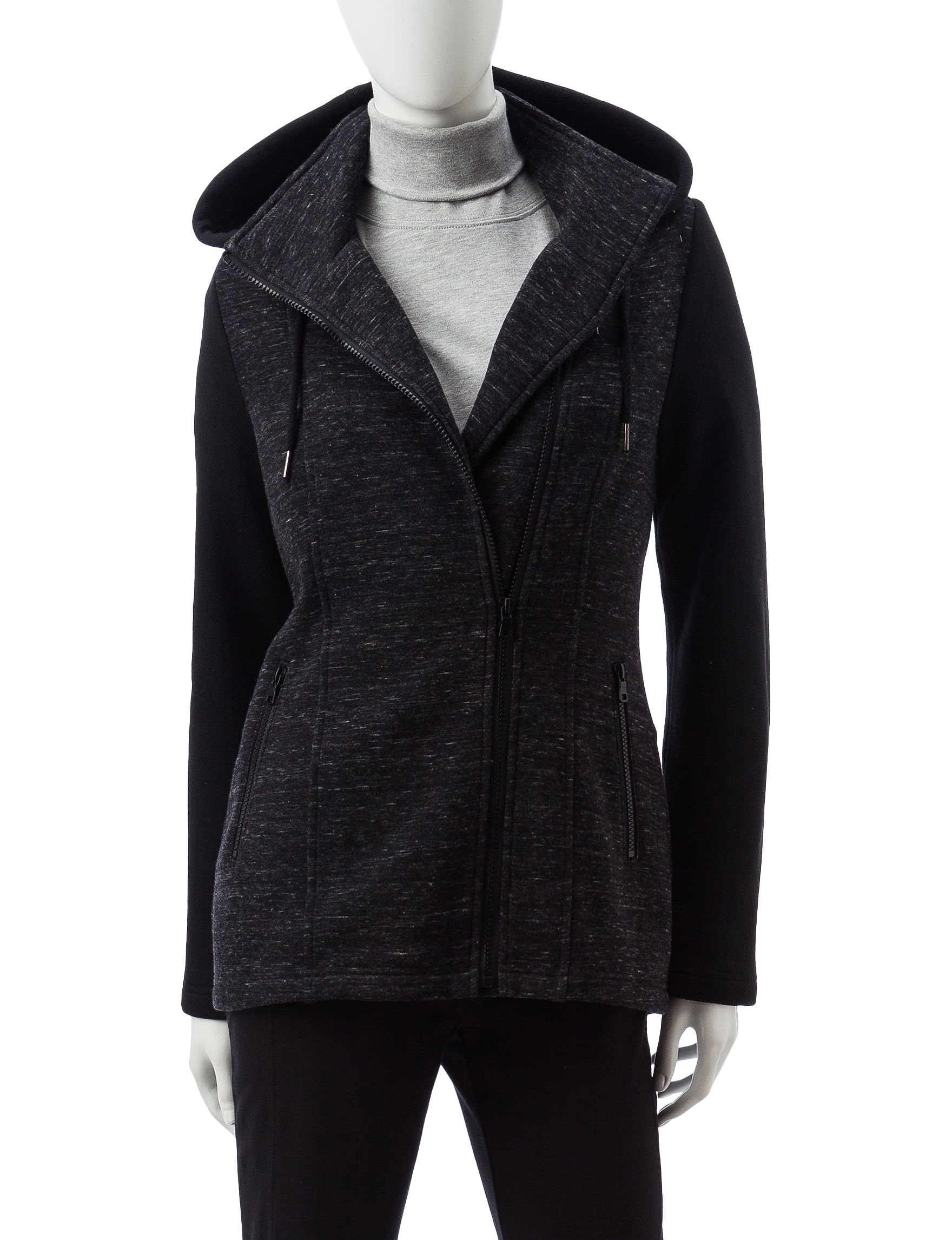 Signature Studio Black Fleece & Soft Shell Jackets