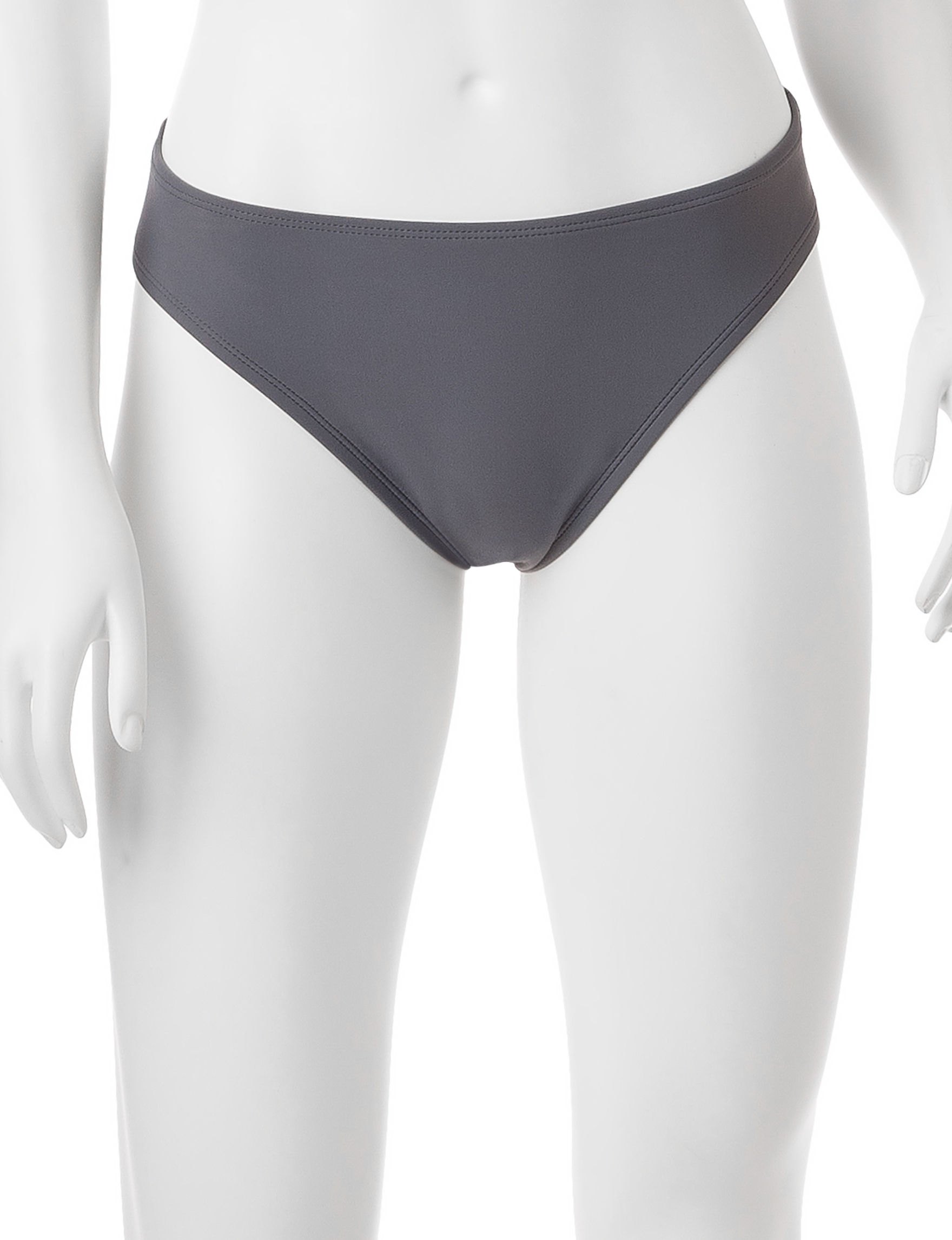Splashletics Grey Swimsuit Bottoms Hipster