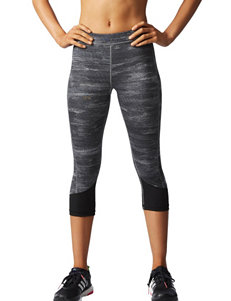 Adidas Black / Silver Leggings