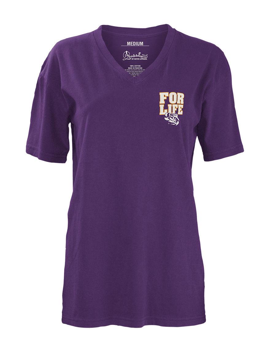 NCAA Purple Tees & Tanks NCAA