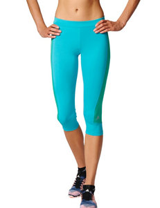 Adidas Blue / Green Leggings