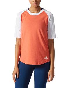 Adidas Coral Tees & Tanks