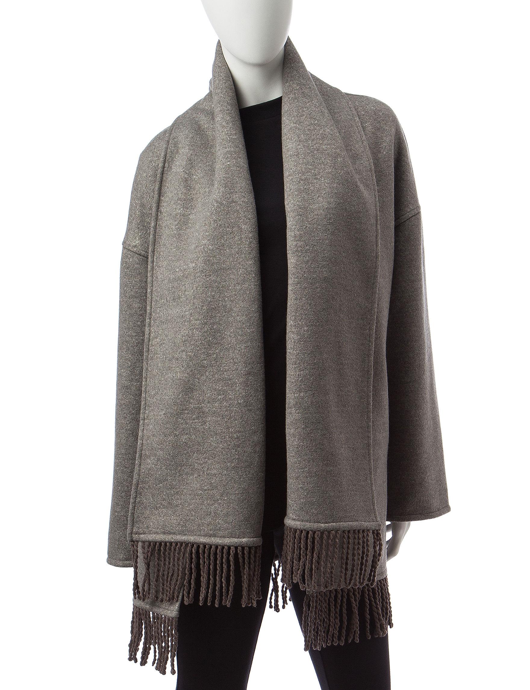 Valerie Stevens Grey Peacoats & Overcoats