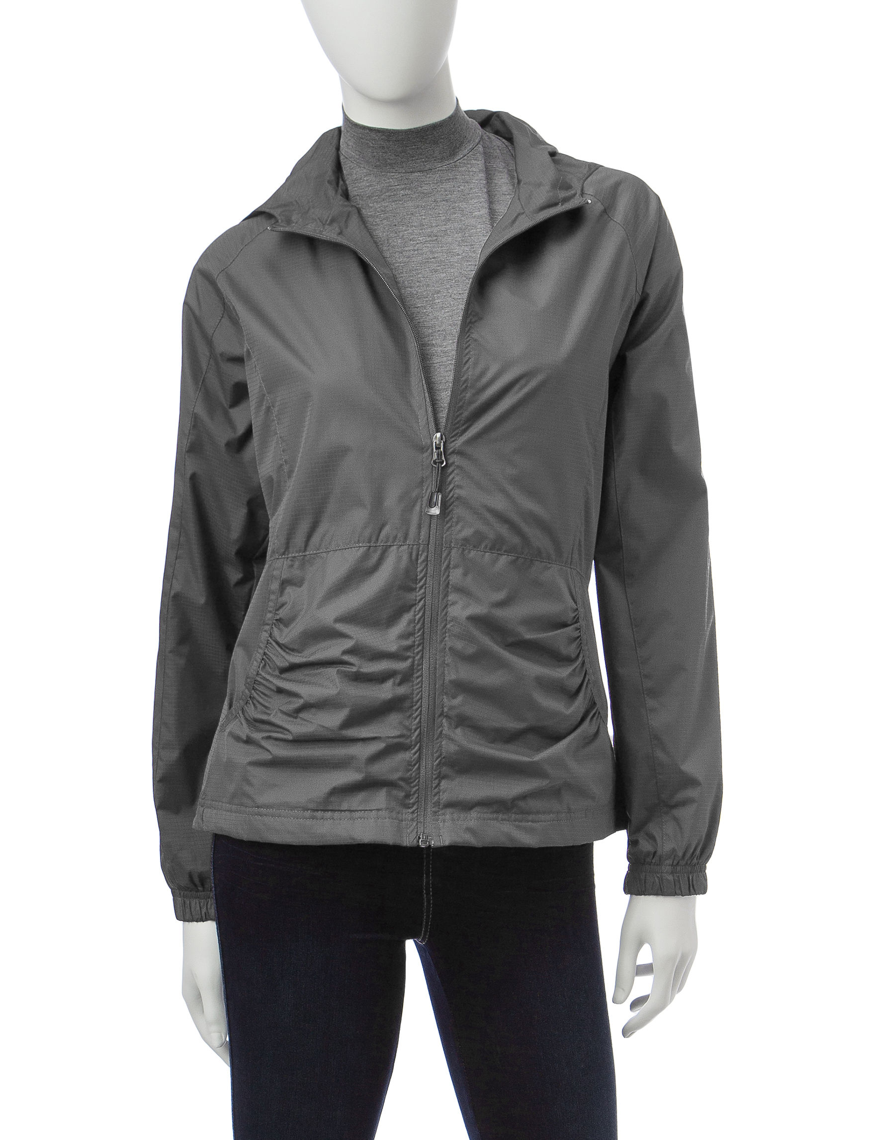 Hannah Grey Lightweight Jackets & Blazers Rain & Snow Jackets
