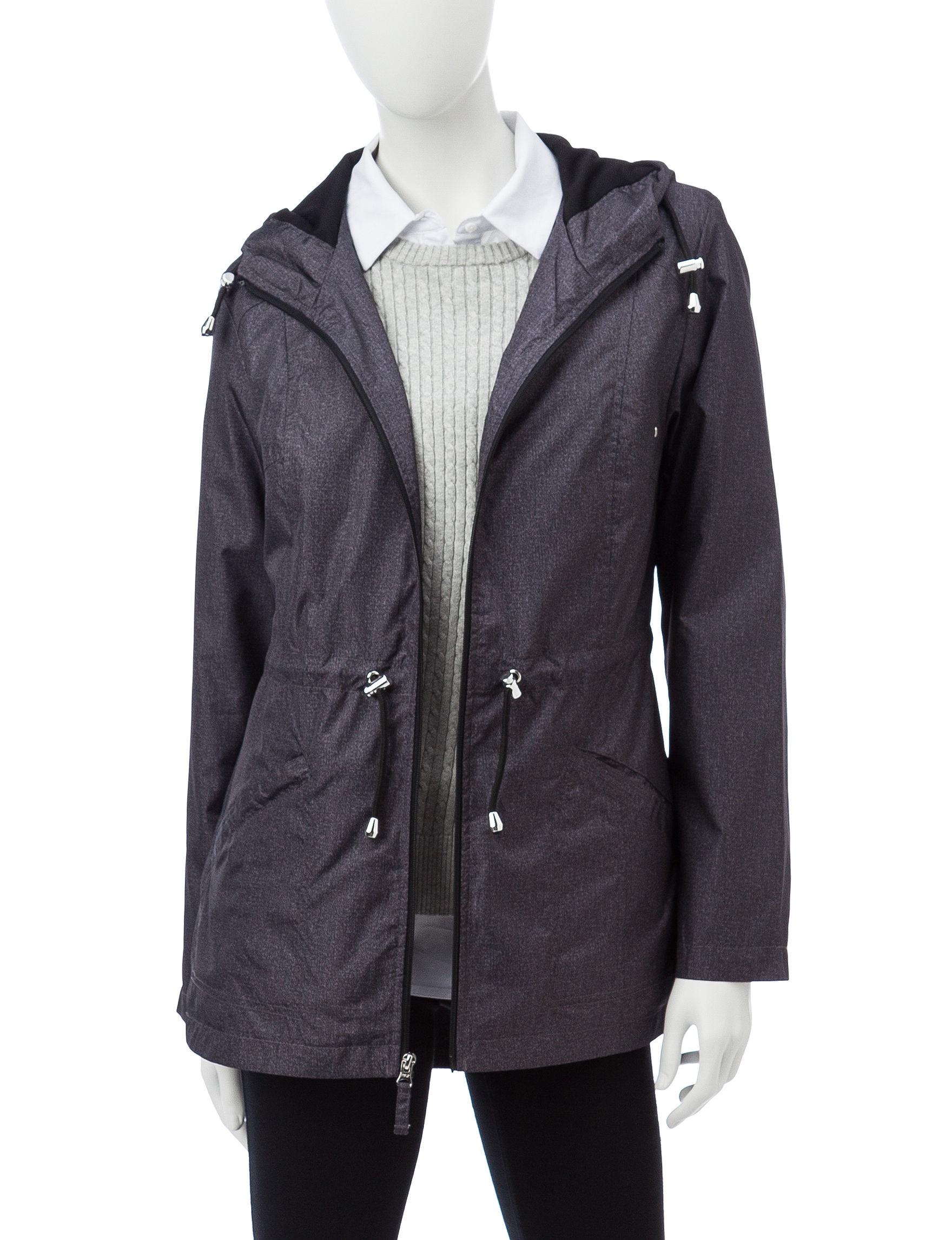 Details Black Lightweight Jackets & Blazers Rain & Snow Jackets