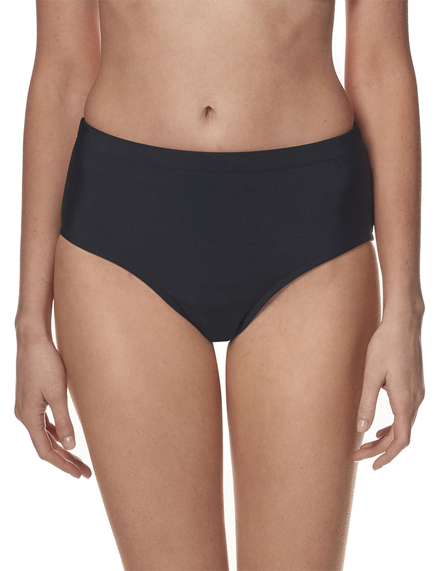 Penbrooke Black Swimsuit Bottoms Hipster