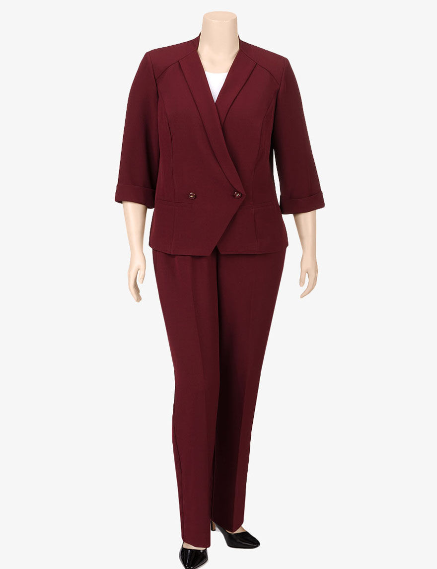 Innovative Velvet Burgundy Woman39s Suit And Shirt With Stripes  AW 1213 For