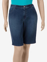 Gloria Vanderbilt Denim Walking Shorts – Plus-sizes