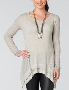 Democracy Plus-size Mineral Wash Sweater Knit Top