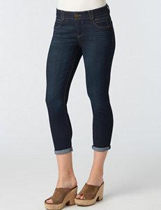 Democracy Plus-size Cuffed Skinny Jeans