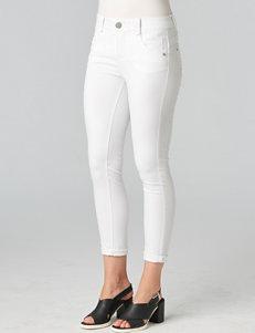Democracy Plus-size White Washed Skinny Jeans