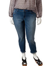 Jessica Simpson Plus-size Forever Rolled Skinny Jeans