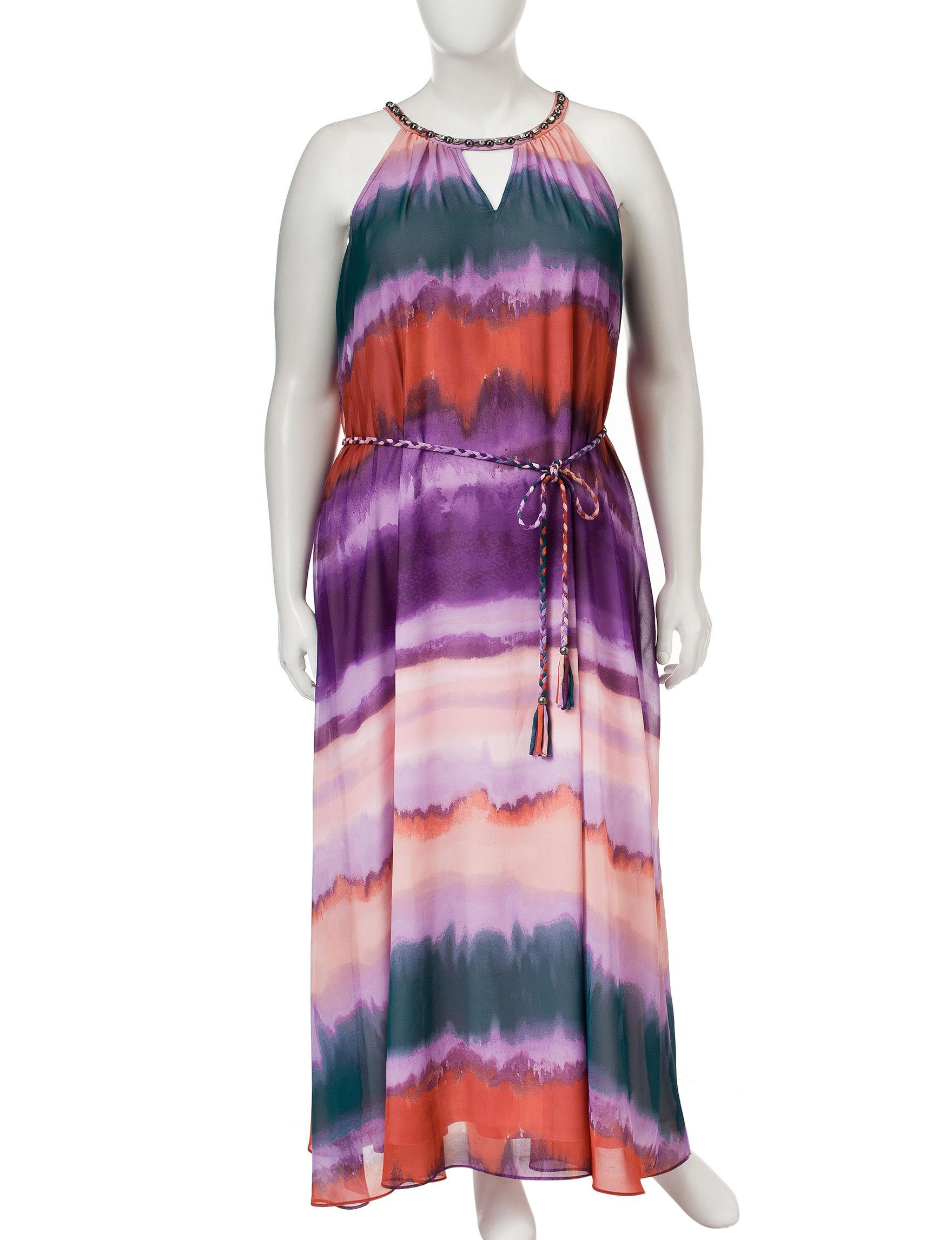 Jessica Simpson Purple Multi