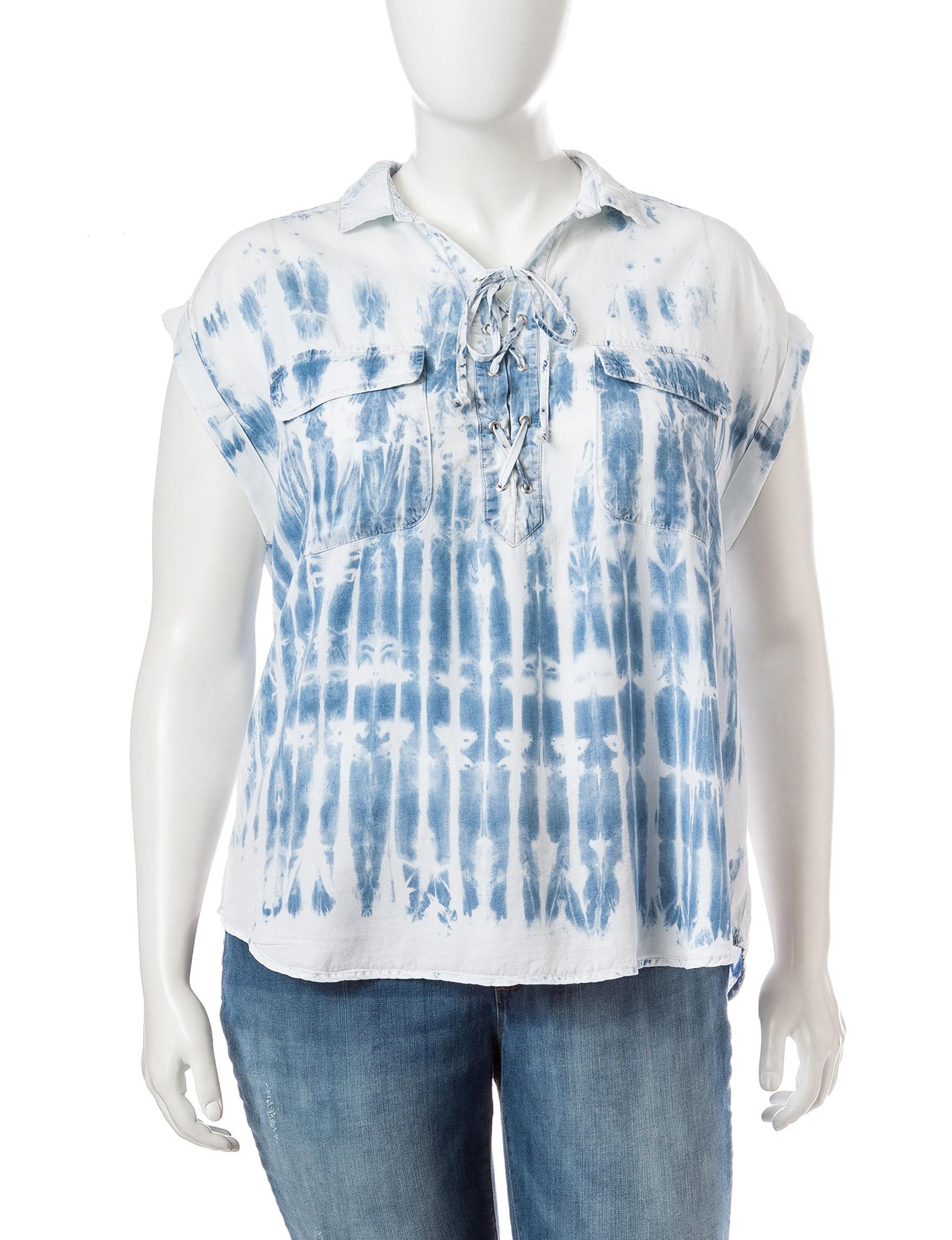 Jessica Simpson Indigo Shirts & Blouses