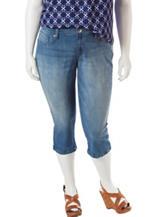 Jessica Simpson Plus-size Kiss Me Skimmer Shorts