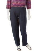 Cathy Daniels Plus-size Denim Stretch Pants