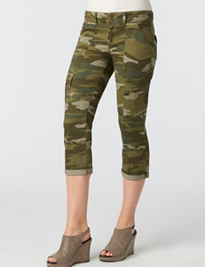 Democracy Plus-size Camo Print Utility Pants