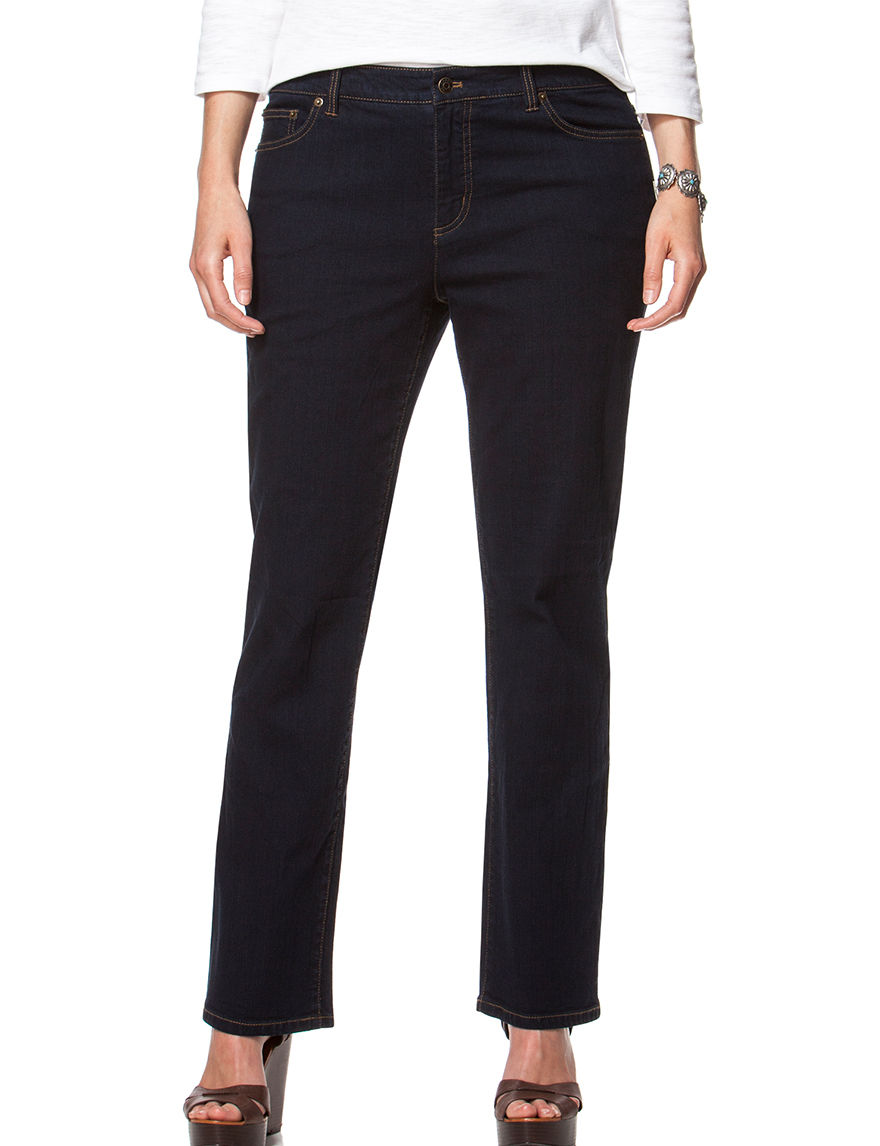Chaps Dark Blue Straight