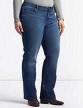 Lee® Plus-size Adrian Dark Wash Curvy Bootcut Jeans