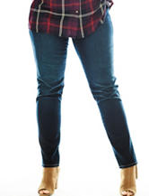 Hannah Plus-size Lucy Wide Band Denim Jeggings