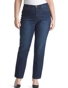Gloria Vanderbilt Plus-size Medium Wash Amanda Jeans