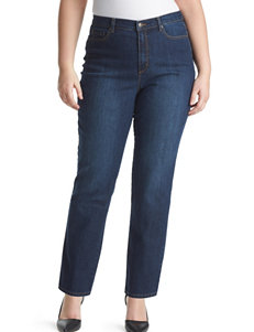 Gloria Vanderbilt Plus-size Short Length Amanda Jeans