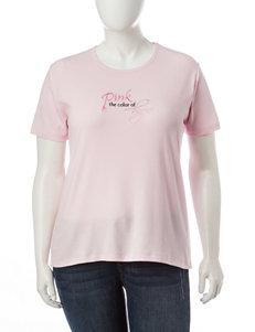 MCcc Sportswear Pink Tees & Tanks