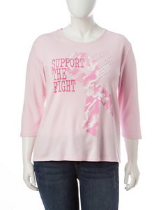 MCcc Sportswear Plus-size Support The Fight Top