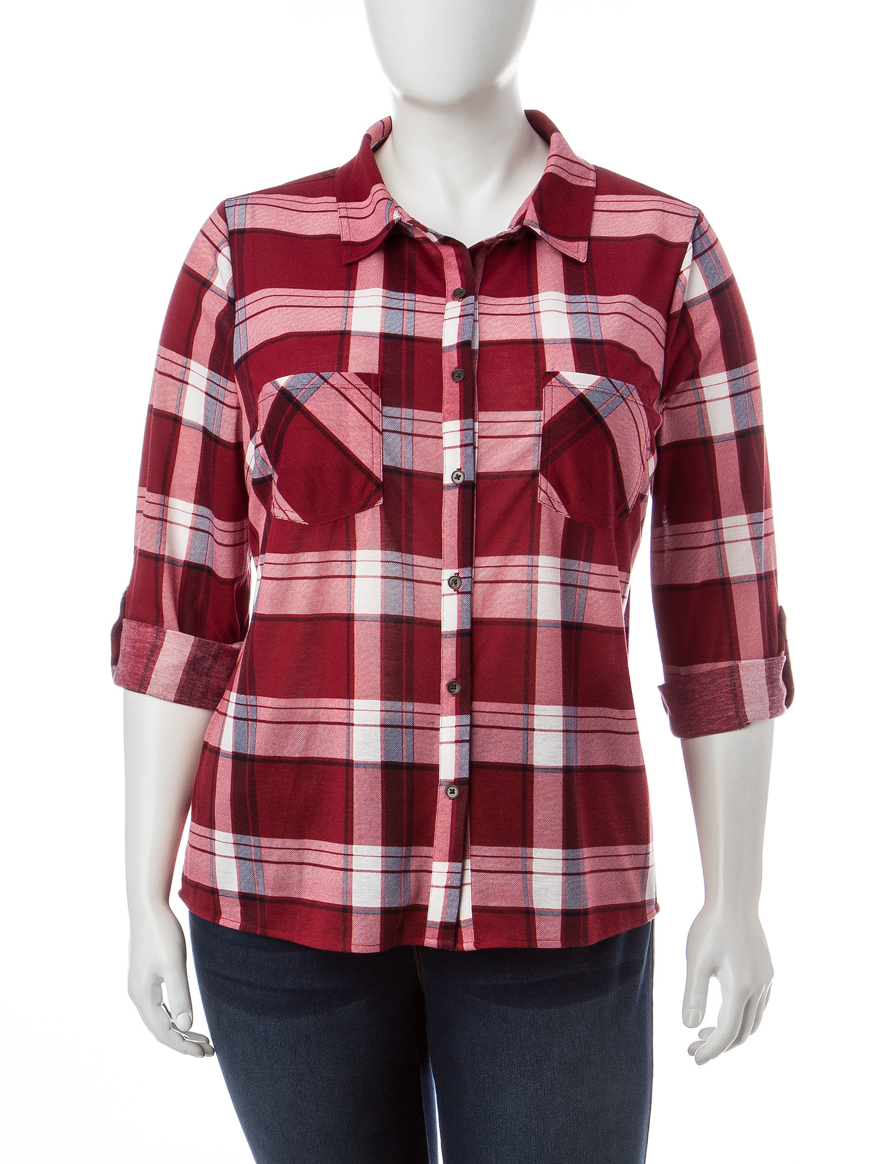 Signature Studio Berry Shirts & Blouses