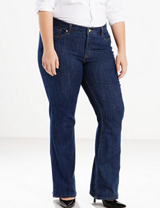 Levi's 415 Plus-size Relaxed Short Length Bootcut Jeans