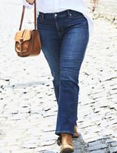 Levis® 414™ Plus-size Medium Wash Straight Leg Jeans