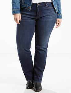 Levi's 414 Plus-size Short Length Straight Leg Jeans