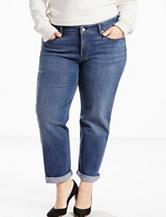 Levi's® Plus-size Medium Wash Boyfriend Jeans
