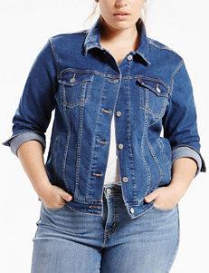 Levi's Blue Denim Jackets