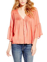 Jessica Simpson Plus-size Textured Top