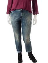 Jessica Simpson Plus-size Vintage Boyfriend Jeans