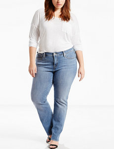 Levi's 415 Plus-size Light Wash Relaxed Bootcut Jeans