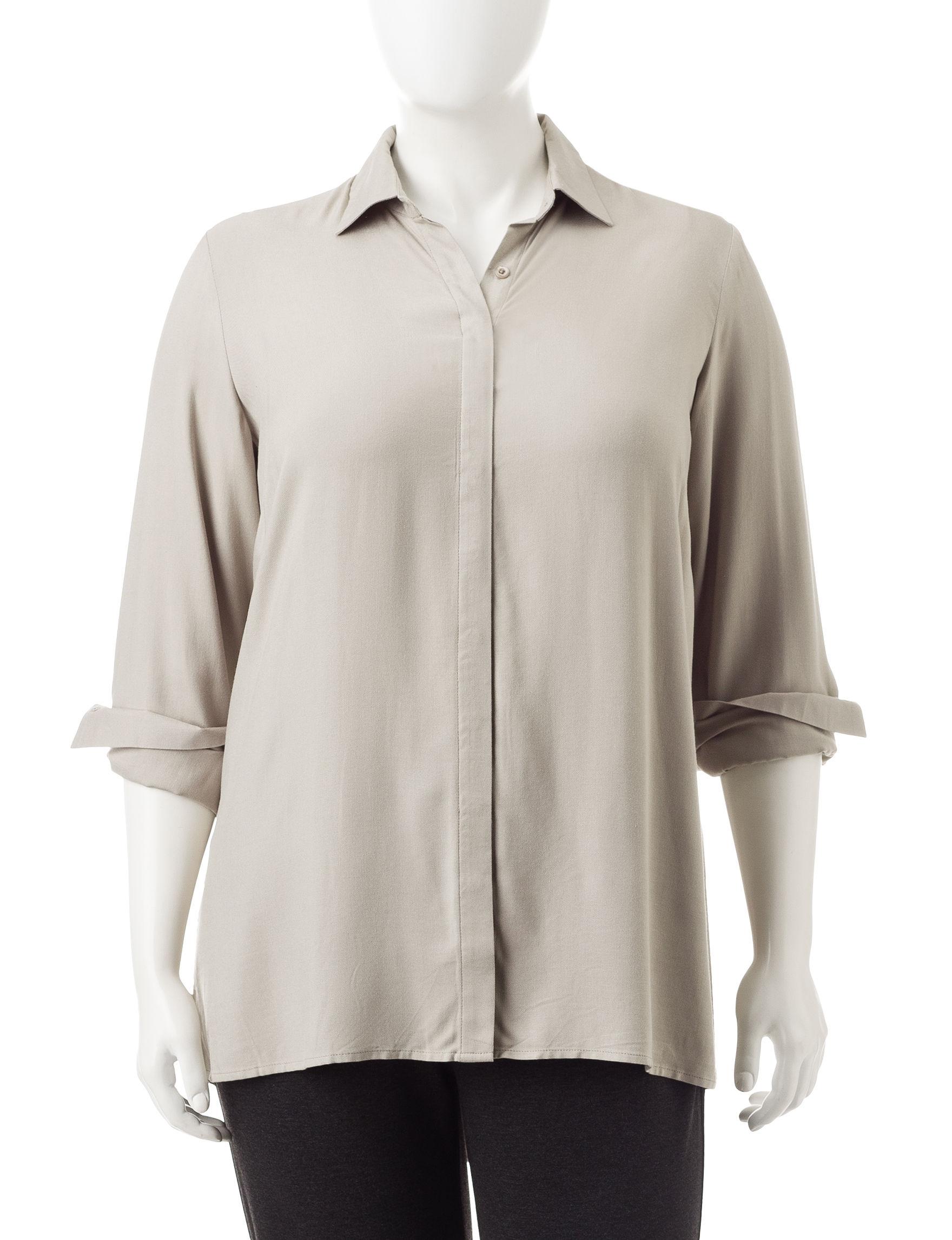 Valerie Stevens Brown Shirts & Blouses
