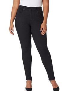 Vintage America Blues Plus-size Boho Skinny Jeans