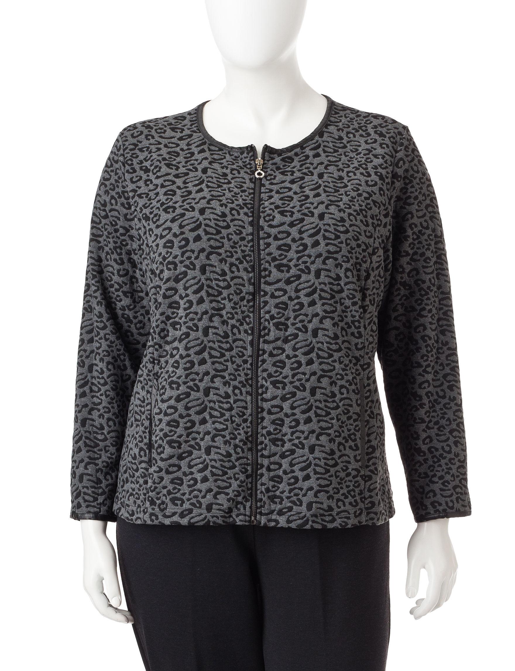 Cathy Daniels Black Cardigans Sweaters