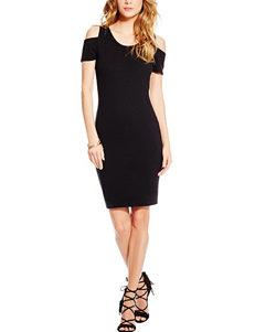 Jessica Simpson Plus-size Cold Shoulder Dress