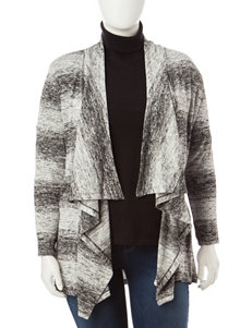 Signature Studio Plus-size Ombre Cardigan