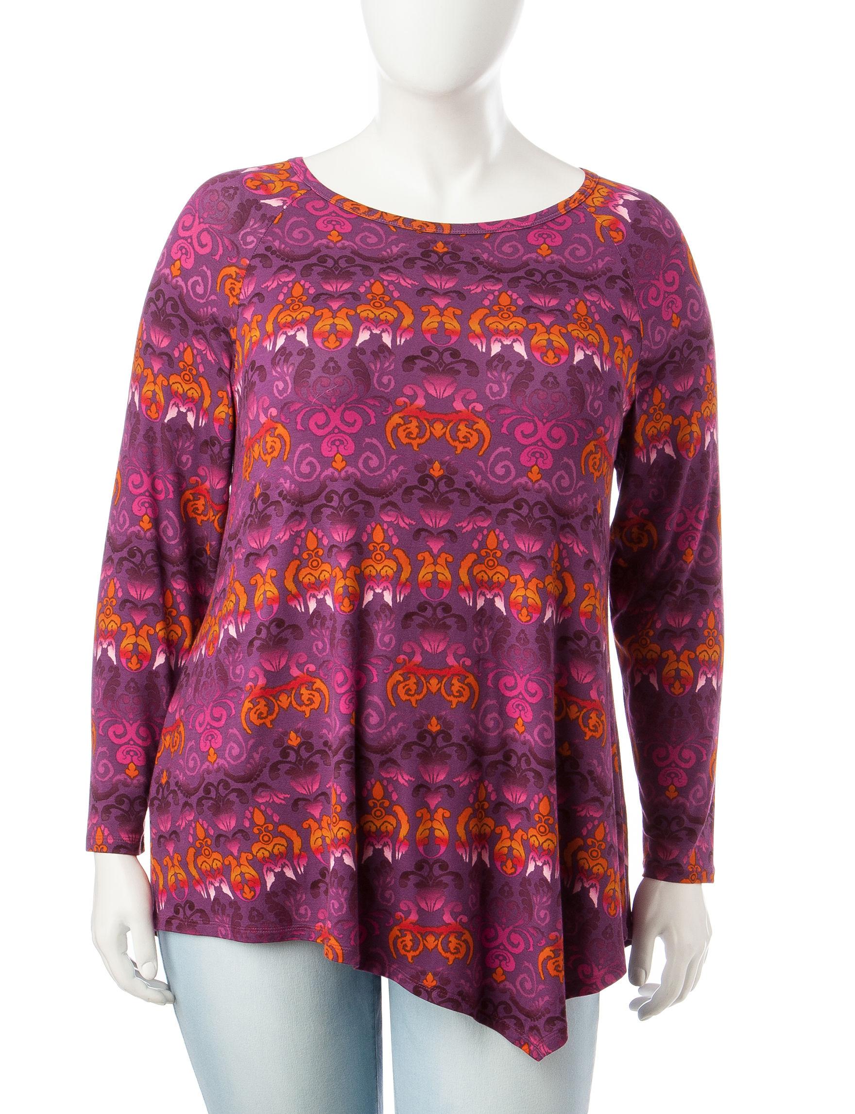 Zac & Rachel Purple Tunics