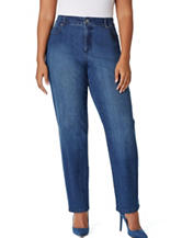 Bandolino Plus-size Mandie Medium Wash Jeans