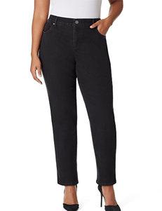 Bandolino Plus-size Mandie Straight Leg Jeans