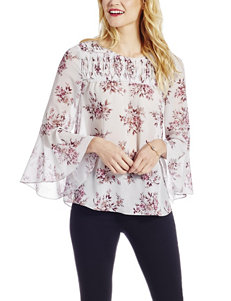 Jessica Simpson White / Pink Shirts & Blouses